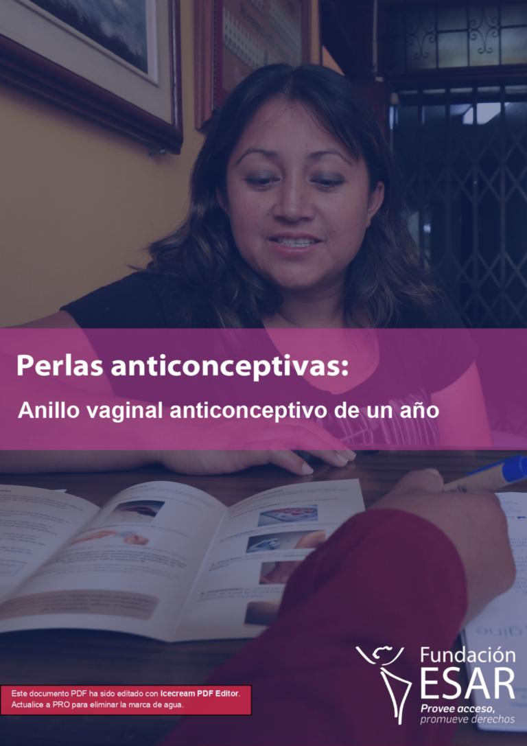 Perla anticonceptiva